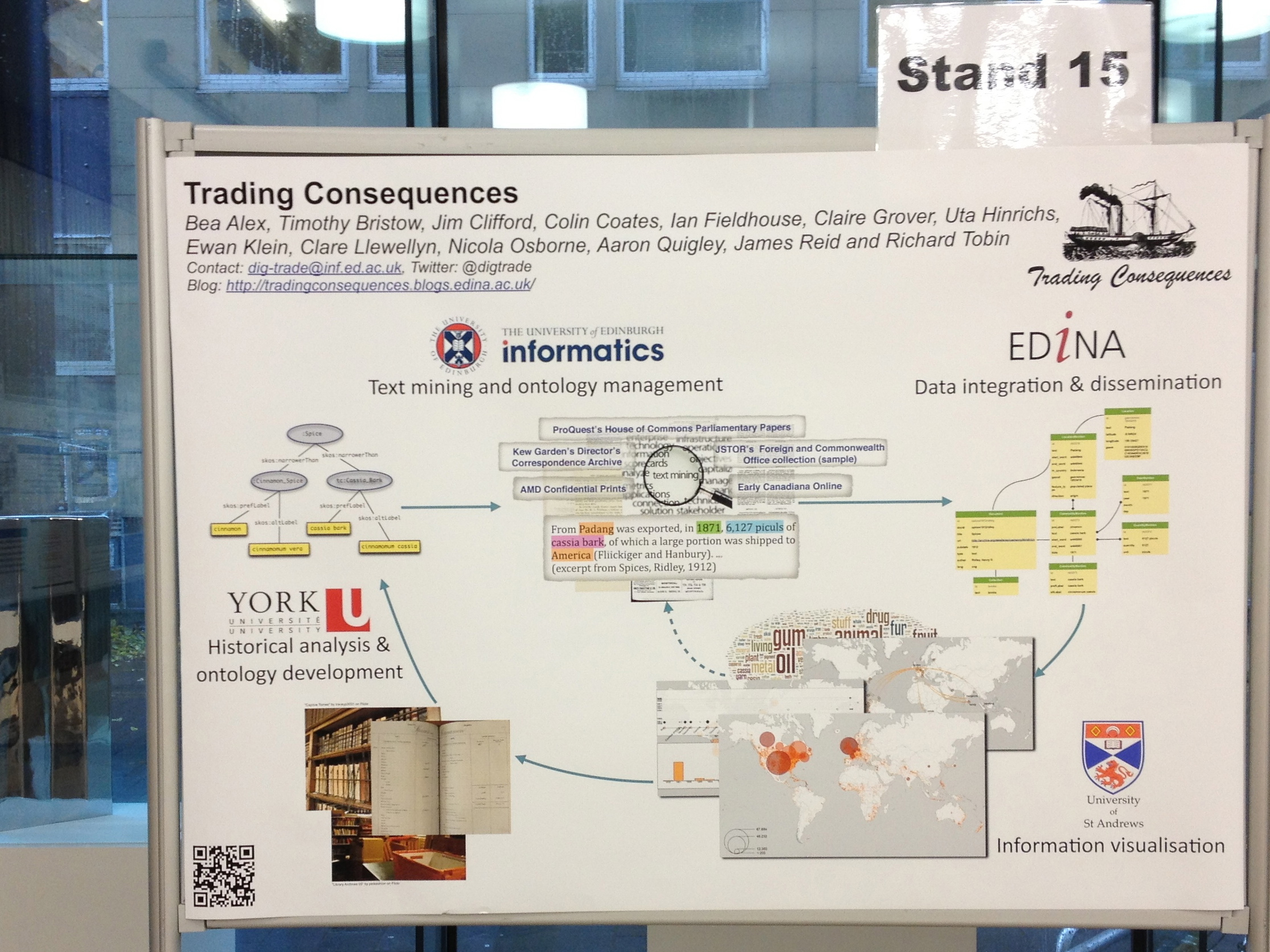 Trading Consequences poster for SICSA DEMOFest 12