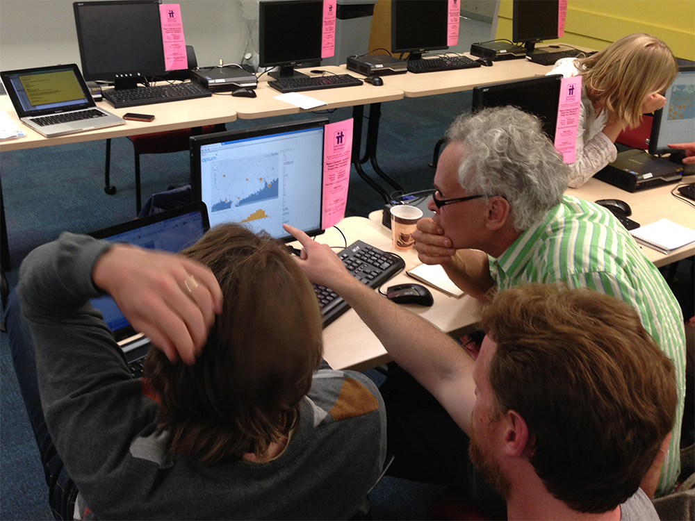 Image of Testing and feedback at CHESS'13.
