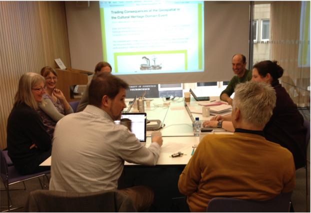 Image of the Trading Consequences Project Team at our original kick off meeting.